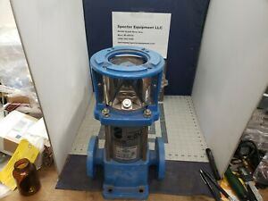 Goulds E sv 1sv8gb3j20h Stainless Steel Vertical Multi stage Pump a7f