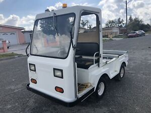 Used Taylor Dunn Truck taylor Truck Industrial Flatbed Electric Utility Cart