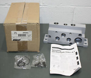 Speedaire End Plate Kit 3fzx1 25 Pin Sub d 5599 2 Manifold Iso Size 2