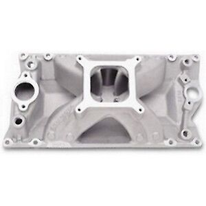Edelbrock 2913 Super Victor Vortec Intake Manifold For Small Block Chevy