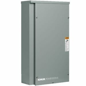 Kohler Rxt Series 150 amp Outdoor Automatic Transfer Switch service Disconnect