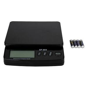 55lb X 0 1oz Digital Postal Shipping Scale Weight Counting And Battery 25kg X 1g