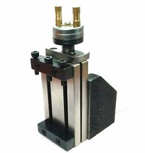 Mini Vertical Slide 90 X 50 Mm For Instant Milling Operation On Lathe Machine
