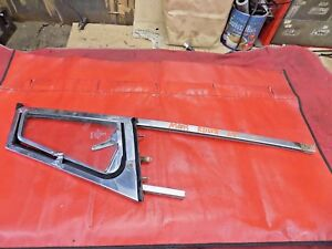 Mgb Left Door Window Wing Or Vent Window Assembly Stainless