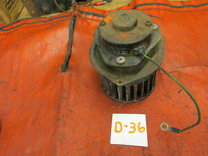 Mgb Original Smiths Blower Motor Assembly Prt Fhm 1201 03