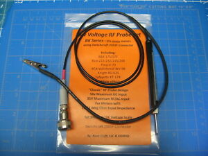 Vtvm Rf Probe Low Voltage B k eico knight rca paco Meters More