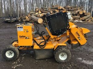 2013 Carlton 4012 Stump Grinder With Only 267 Hours 2585