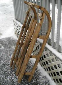 Primitive Early Bentwood German Sled Antique Sled Antique Sleigh Rustic