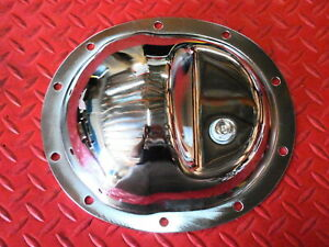 Rear End Cover Dana 35 Chrome Plated Steel Differential Jeep Xj Yj