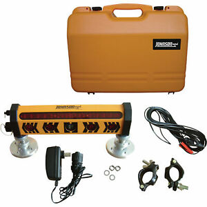 Johnson Level Machine Mountable 360deg Laser Detector W clamp And Magnet