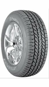 Set Of 4 Cooper Tires Starfire Sf 510 Tires 235 70 16 Radial Ol Wht Letter 51033