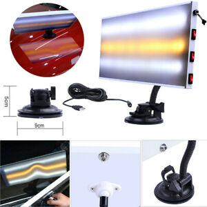 Us Led Light Board 3 Strips Line Pdr Car Paintless Dent Repair For Dent Removal