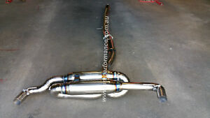 3 5 Inch Titanium Exhaust System To Suit A45 Amg Mercedes