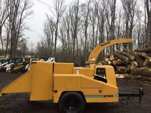 Vermeer Bc1000xl With Only 1744 Hours 2591