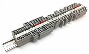 Lot Of 61 Phoenix Contact Typ St 2 5 quattro twin Terminal Blocks