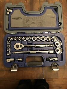 Blue Point 1 2 Drive General Service Set 10 32mm As Sold By Snap On