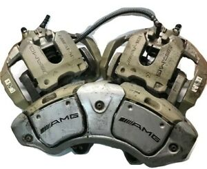 Set Of 3 Brake Calipers Oem Amg Mercedes benz 2008 2014 S63 Cl63