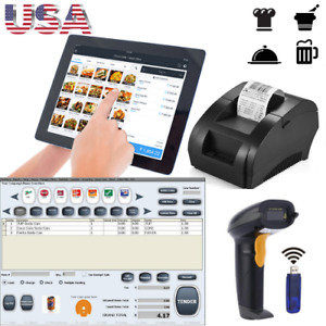Bundle Tablet 10 Entry Level Pos Point Of Sale System Combo Kit Retail Store