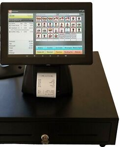 Tablet 10 Entry Level Pos Point Of Sale System Combo Kit Retail Store