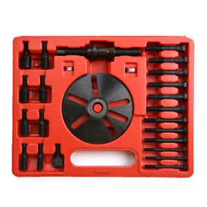 Harmonic Balancer Puller Drive Pulley Removal Installer Set Tools Crankshaft Diy