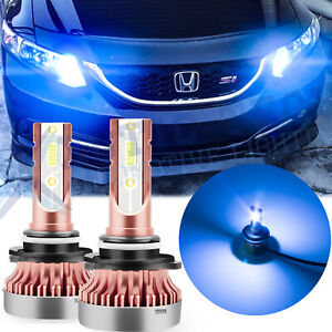 Ice Blue Projector Lens 106 Led Drl Daytime Running Light For Honda Accord Civic