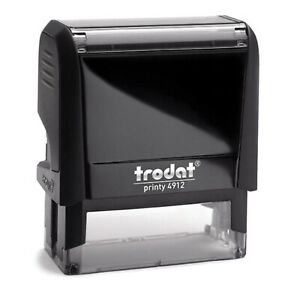 Trodat 4912 Personalised Self Inking Rubber Stamp
