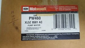 Ford Motorcraft Oem Water Pump Ranger Pw460 Xl5z 8501 Ac