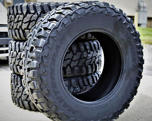 4 New Mastercraft Courser Mxt Lt 35x12 50r20 Load E 10 Ply Mt M T Mud Tires