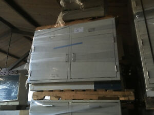 Off White 4 Wide X 36 Tall X 22 Deep Laboratory Casework Sink Base Cabinet