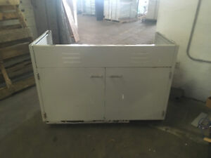 4 Wide X 36 Tall X 22 Deep Laboratory Casework Sink Base Cabinet