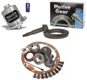 65 71 Gm 8 2 Chevy 10 Bolt 3 36 Ring And Pinion Duragrip Posi Motive Gear Pkg