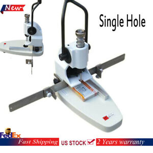 B3 35mm Thickness Manual Paper Drilling Machine paper Single Hole Punch Machine