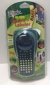 Brother P touch Gl100 Electronic Labeling System Garden Labeler Lcd Display