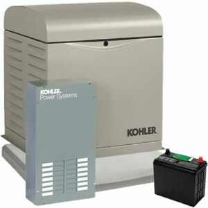 Kohler 8kw Home Standby Generator System 100a 12 circuit Automatic Switch