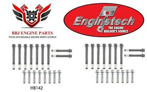 Enginetech Chevrolet Sbc 283 305 307 327 350 New Cylinder Head Bolt Set Hb142