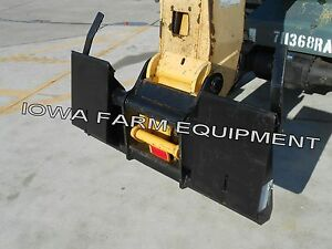 Telehandler Skidsteer Quick Attach Adapter For Gehl Rs5 19 Rs6 34 Telehandlers