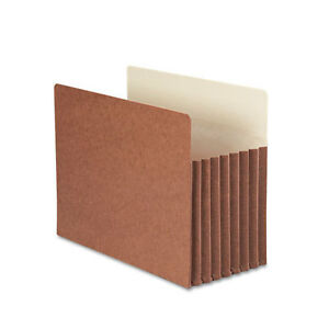 Case Of 25 Smead Tuff Pocket Heavyweight File Letter 7 Expansion 73395