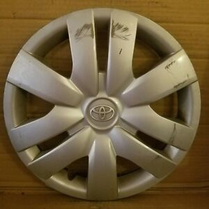 Toyota Yaris 2006 2012 14 Oem Wheel Cover Hub Cap 42602 52260 884ds