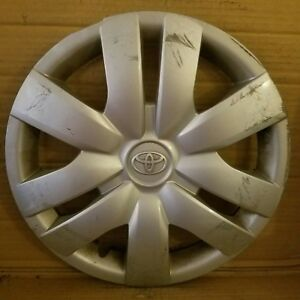 Toyota Yaris 2006 2012 14 Wheel Cover Hub Cap 42602 52260 Chip In Edge 886ds