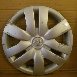 Toyota Yaris 2006 2012 14 Wheel Cover Hub Cap 42602 52260 Chip In Edge 887ds