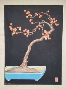 Lilian Miller Original Japanese Woodblock Purchased From The Artist 1st Edition