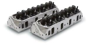 Edelbrock Cylinder Heads Assembled E 205 Small Block Ford Pair