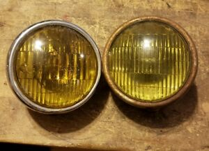 B L C 2002 C Fog Lights Original Vintage Accessory Pr 5 3 4 Lamps Chevy Gmc