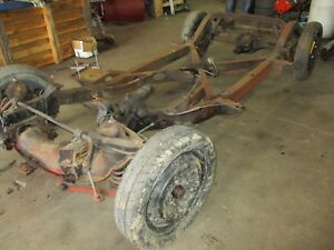 1960 Corvette Frame Rolling Chassis 1956 1957 1958 1959 1961 1962