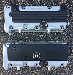 K20 K24 Vented Valve Cover 10an Bungs K Swap K Series Rsx Civic Si Type S Honda