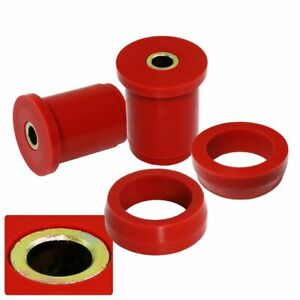 For 1979 2004 Ford Mustang Jdm Lower Control Arm Bushing Red Polyurethane Rear