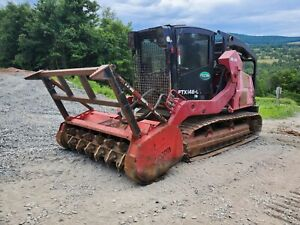 Deere 333e Track Skid Steer Fully Loaded Gyrotrac Forestry Mulcher Very Nice