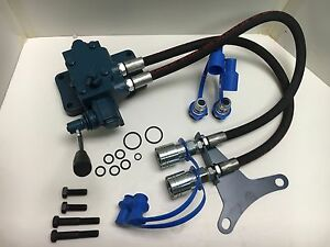 Remote Hydraulic Valve Kit For Ford Tractors Single Spool
