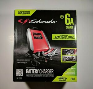 New Schumacher Sp1298 6a 12v Automatic Battery Charger And Maintainer