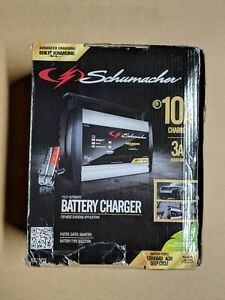 New Schumacher Fully Automatic Battery Charger 12 Volt And 6 Volt 10 Amps Sc1303